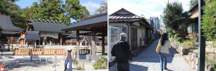 元伊勢籠神社より『傘松公園』へ向かいます。