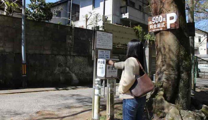春日大社最寄駐車場です。