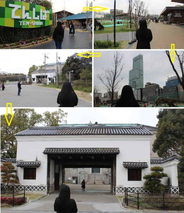 旧黒田藩蔵屋敷長屋門です。