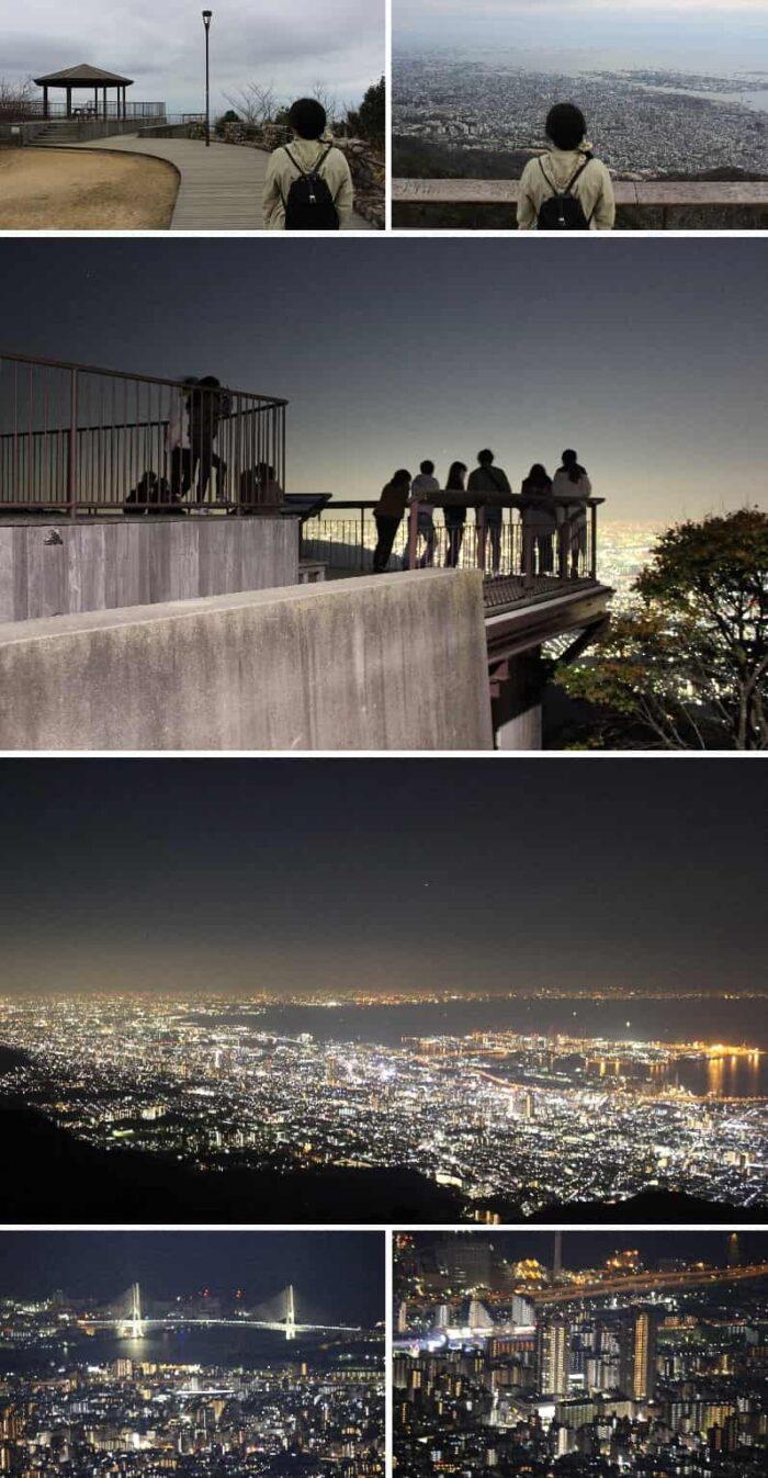 日本三大夜景に選ばれています。