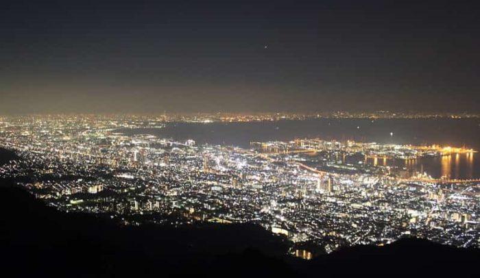 通称:1000万ドルと称される夜景です。