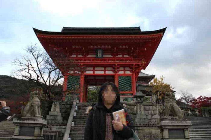 清水寺への入口となる『仁王門』です。