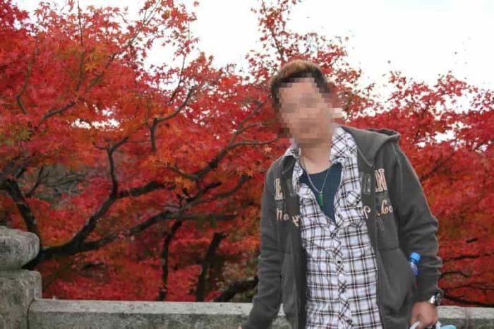 色鮮やかな清水寺の紅葉です。