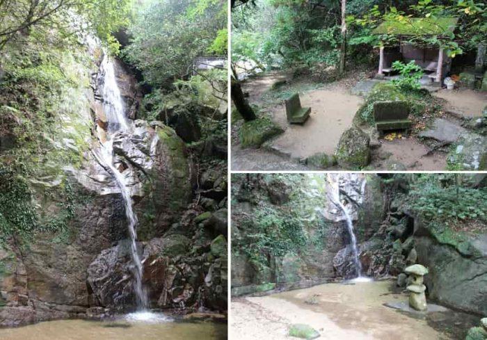 高さ約23mを誇る『不動の滝』です。