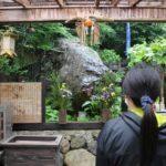 弘法大師衣千岩です。