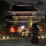 金戒光明寺『見どころ』紅葉の夜間拝観ライトアップ【御朱印】