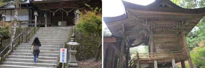 『天石門別神社』の本殿です。