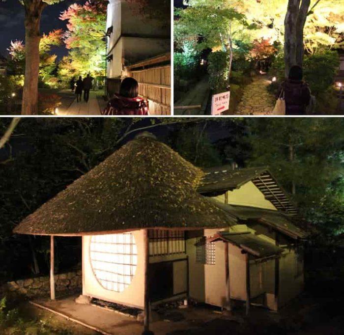 高台寺の見どころとなる遺芳庵です。