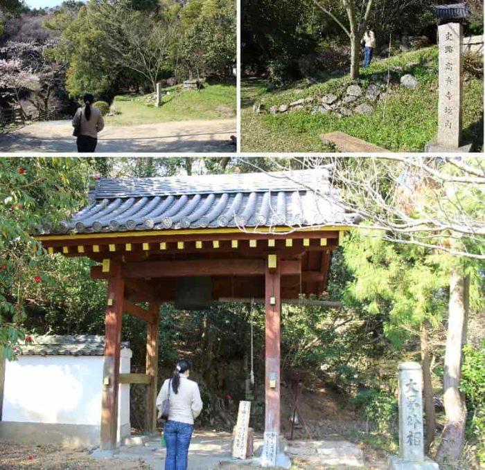 高貴寺の境内へと向かいます。