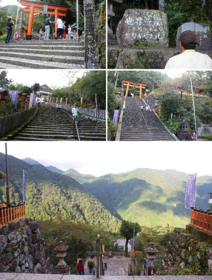 熊野那智大社の境内より望む景色です。