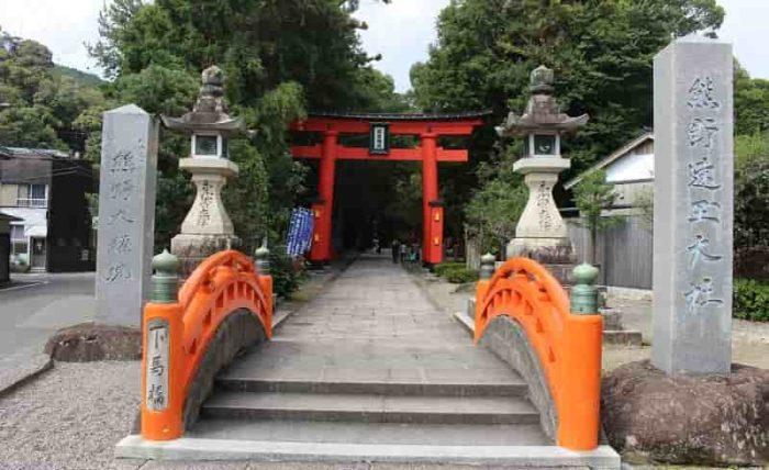 熊野三山のひとつ熊野速玉大社です。