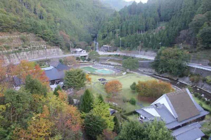 大自然の景色を一望できます。