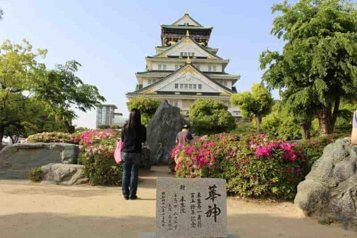 大阪府が誇る名城の大阪城です。