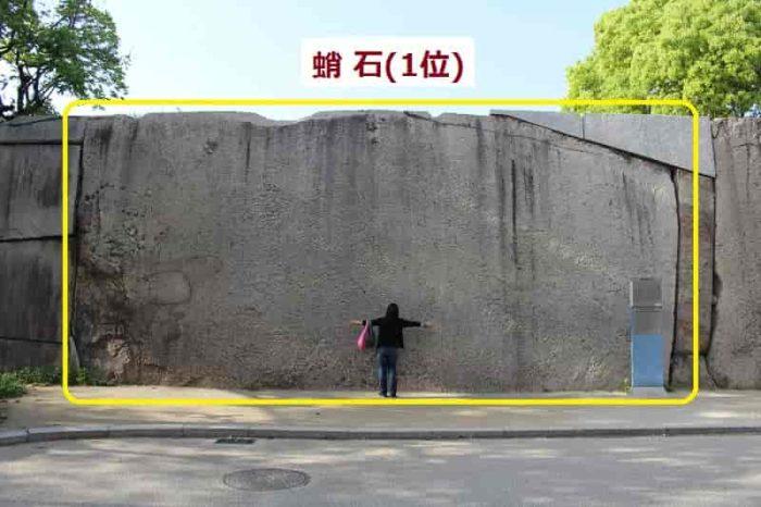 巨石で第一位となる『蛸石』です。