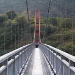 近畿地方で3番目に長い吊り橋です。