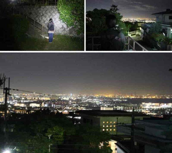 視界の良い夜景が広がりを魅せます。