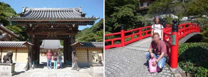 日本四弁財天のひとつを安置する瀧安寺です。