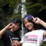 日本の滝100選に選ばれる箕面の滝です。