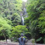 奈良県が誇る名瀑の宮の滝です。