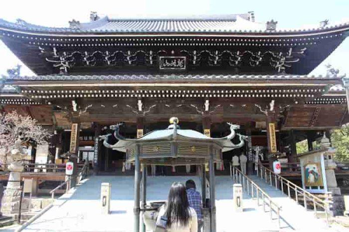 水間寺の本堂です。