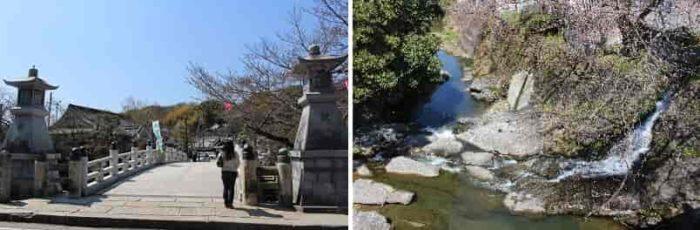 水間寺を象徴する厄除け橋です。