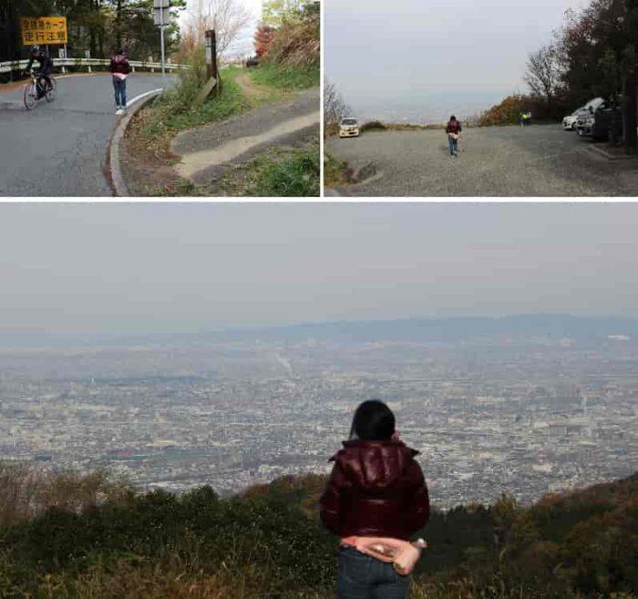 十三峠展望広場より眺める景色です。