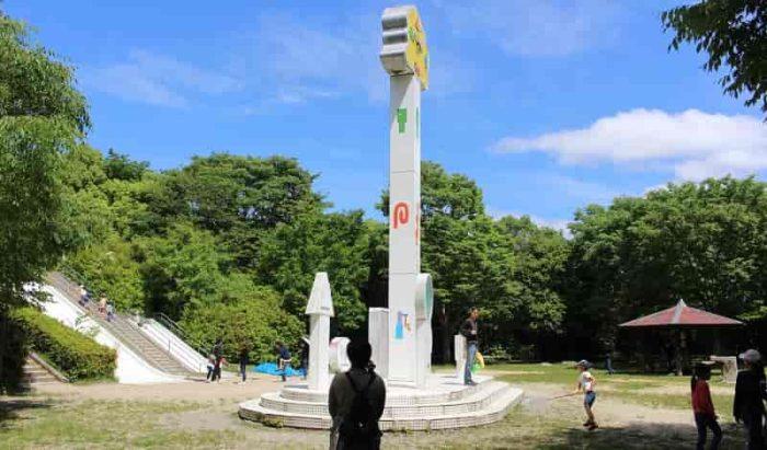 森の宝島のわいわい広場です。
