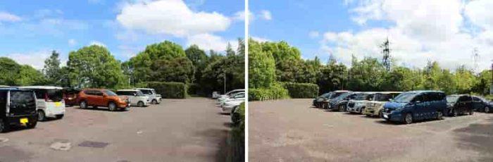 『森の宝島』の無料駐車場です。
