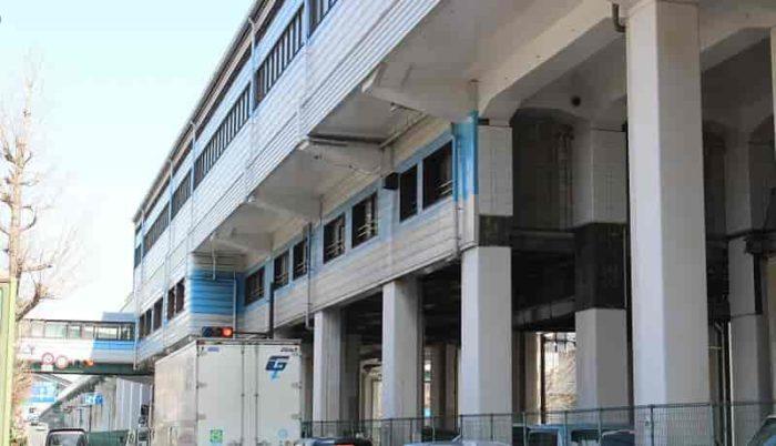 大阪メトロ中央線の「大阪港駅」です。