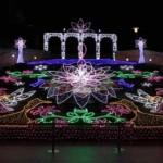 大阪~『なんばパークス』『なんば光旅』冬の夜を彩るイルミネーション!