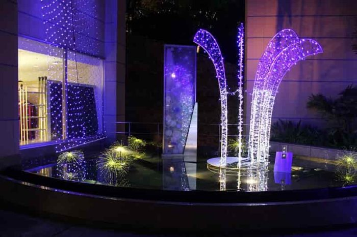 光の泉は心を落ち着かせるパワーです。