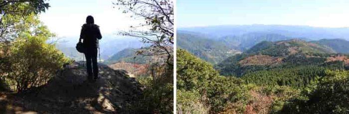 『見晴岩』から眺める景色です。