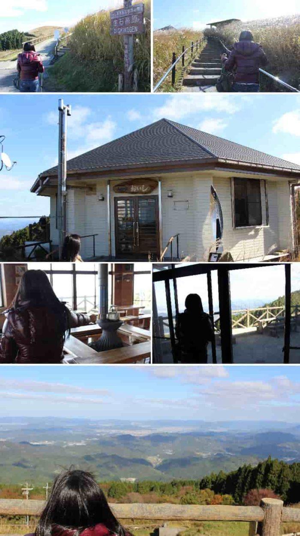 『山の家おいし』から眺める景色です。