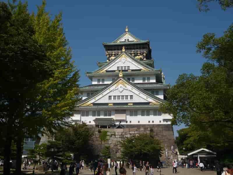 大阪が誇る観光名所「大阪城」です。