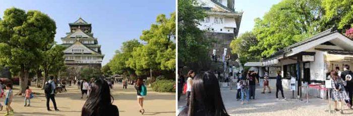 大阪城の『天守閣』に向かいます。