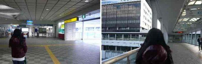 『大阪空港駅』の改札口です。