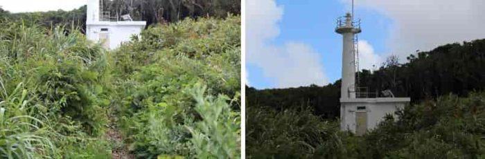 見どころとなる雄島灯台です。