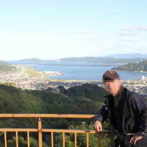 大内峠一字観公園より望む「天橋立」です。