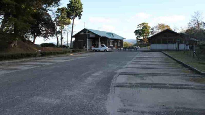 大内峠一字観公園の無料駐車場です。