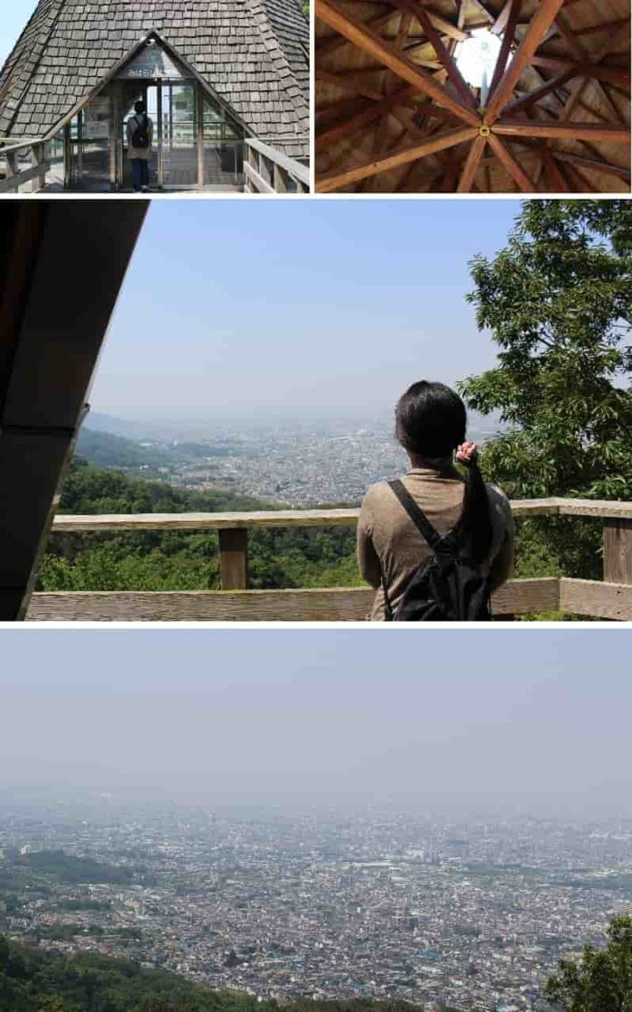 みはらし展望所から眺めた景色です。