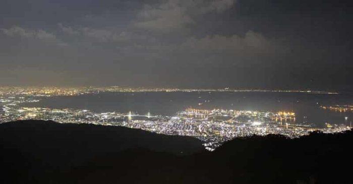 1000万ドルと称される夜景です。
