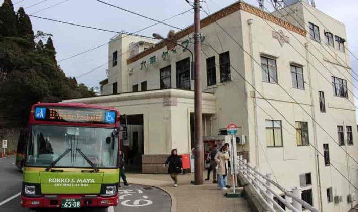 『六甲山上駅』です。