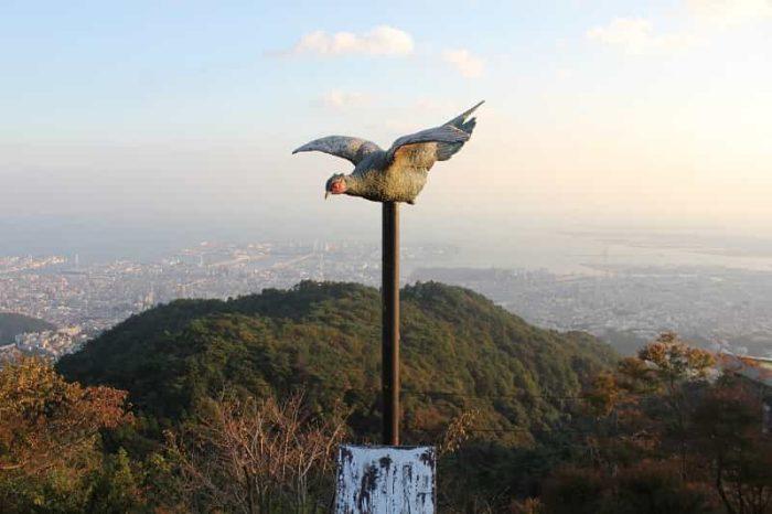『展覧台』から眺めた景色です。
