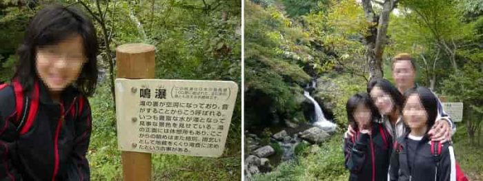 るり渓12勝一番の見どころ『鳴瀑』です。