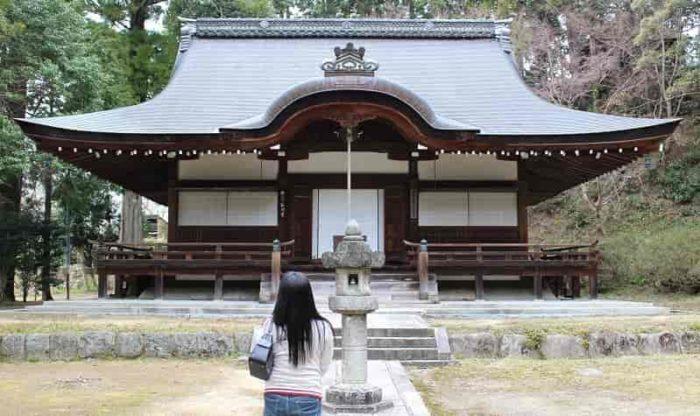 弘川寺の本堂です。