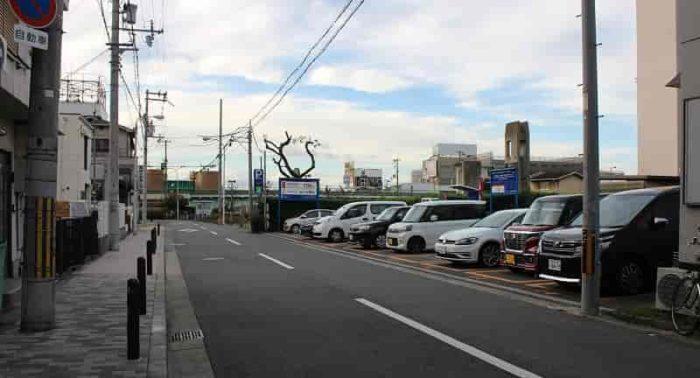 パークNET栄橋町2丁目駐車場です。