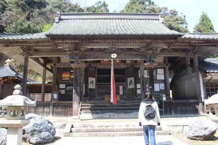 約1300年の歴史のある酒波寺です。