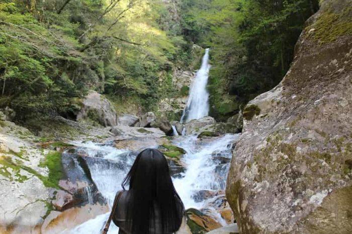 落差32mとなる笹の滝です。
