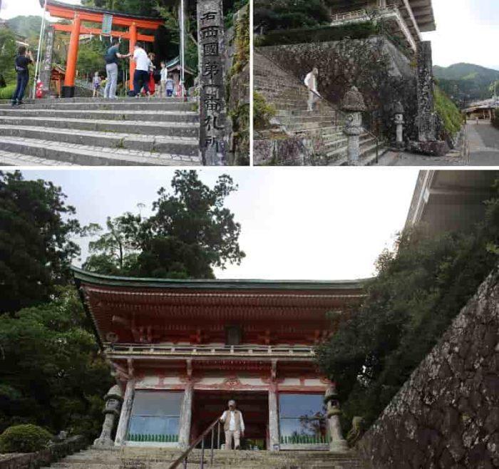 青岸渡寺の山門です。