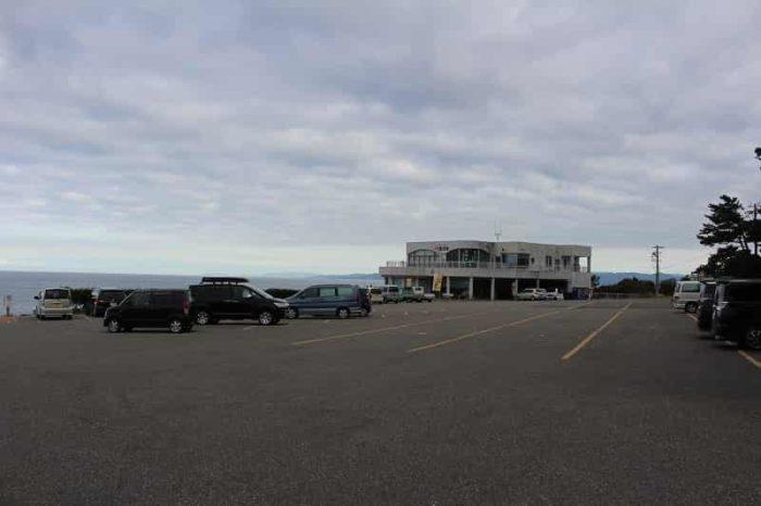千畳敷の無料駐車場です。